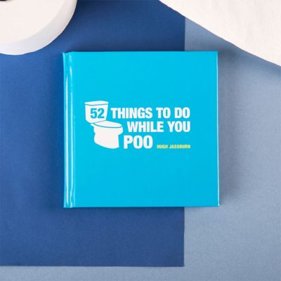 Regali per un Amico o per il Fidanzato - Libro 52 Things To Do While You Poo