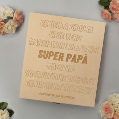 Dolci esclusivi - Scatola di cioccolatini personalizzabile con testo