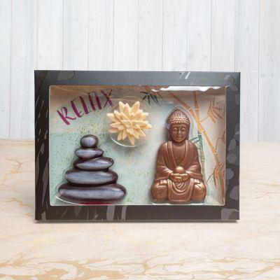 Regali di addio - Set Cioccolato Giardino Zen