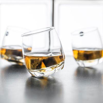 Regalo compleanno papà - Bicchieri Da Whisky dondolanti (set da 6)