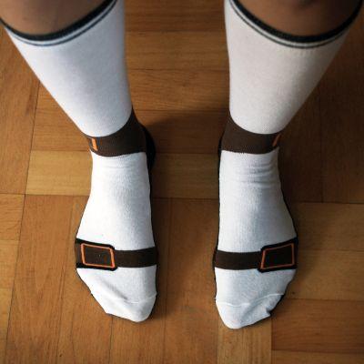 Homewear - Calzini A Forma Di Sandali