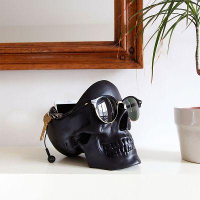 Halloween - Svuota Tasche Teschio Nero