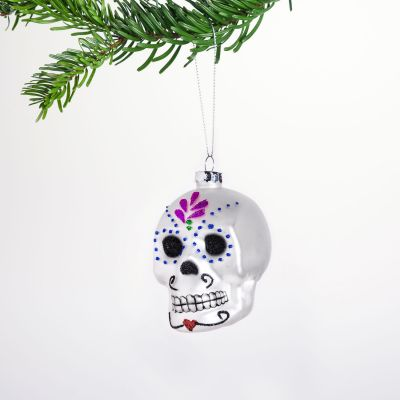 Addobbi Natalizi - Palla di Natale Sugar Skull