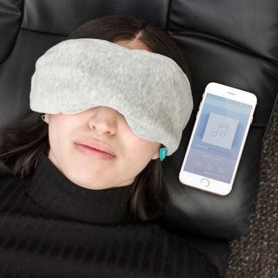 Gadget da Viaggio - Maschera per Dormire con Auricolari Bluetooth