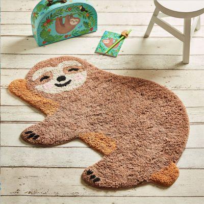 Decorazione - Tappetino da bagno bradipo felice