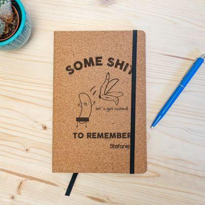 Quaderno Personalizzabile in Sughero - Some Shit