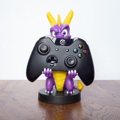 Giocattoli - Supporto per Smartphone Spyro con Cavo di Ricarica