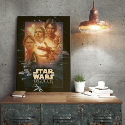 L'Universo Di Star Wars - Poster di metallo Star Wars – Una Nuova Speranza