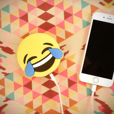 Accessori Smartphone - Caricabatterie Smiley