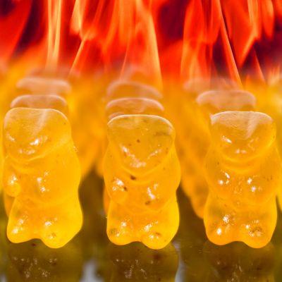 Cose Pazzesche - Orsetti Gommosi Piccanti Hot Gummy Bear