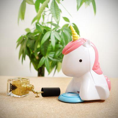 Bagno & Relax - Asciuga Smalto per Unghie Unicorno