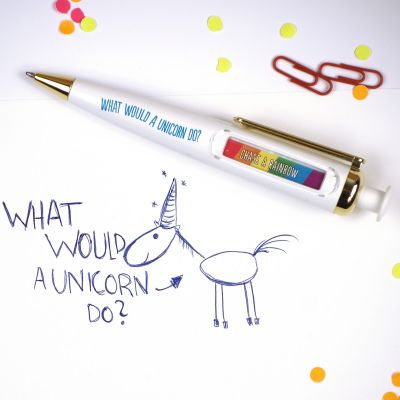 Divertimento ufficio - Penna Oracolo Unicorno