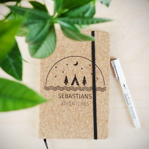 Quaderno Personalizzabile in Sughero – Adventures