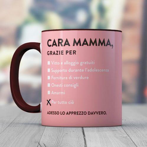 Idee regalo - Tazza Cara Mamma