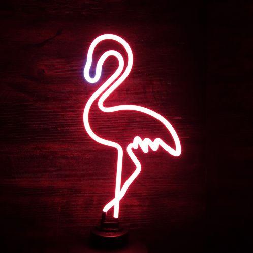 Idee regalo - Lampada Neon Fenicottero