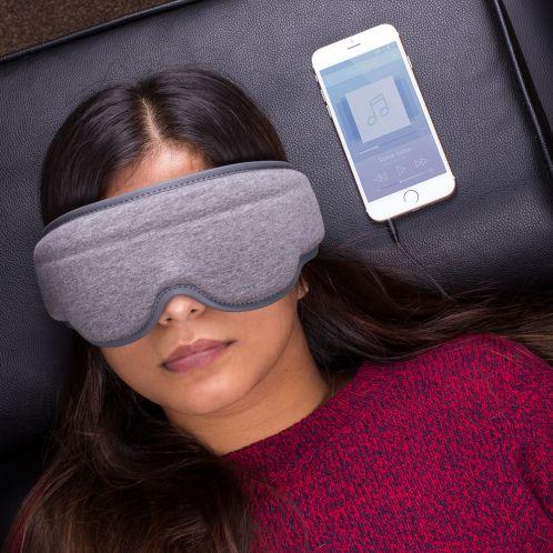 Maschera per dormire con Auricolari Integrati
