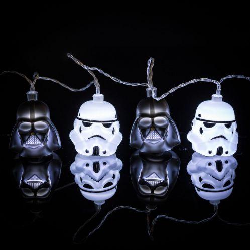 Ghirlanda luminosa Star Wars Darth Vader & Stormtrooper