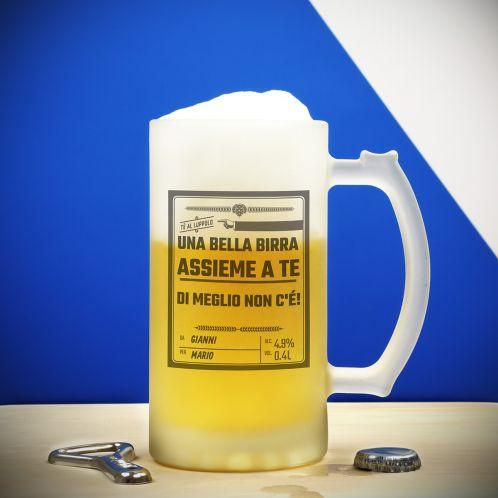 Cofanetti Regalo - Boccale da Birra Personalizzato