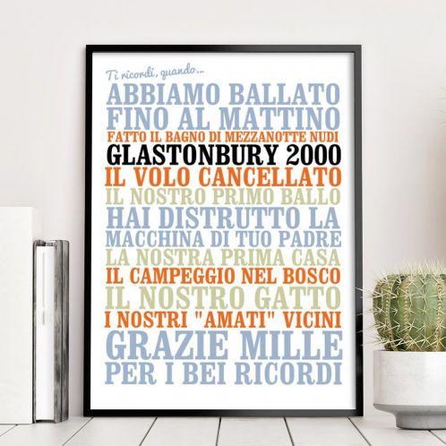 Cofanetti Regalo - Poster Personalizzato