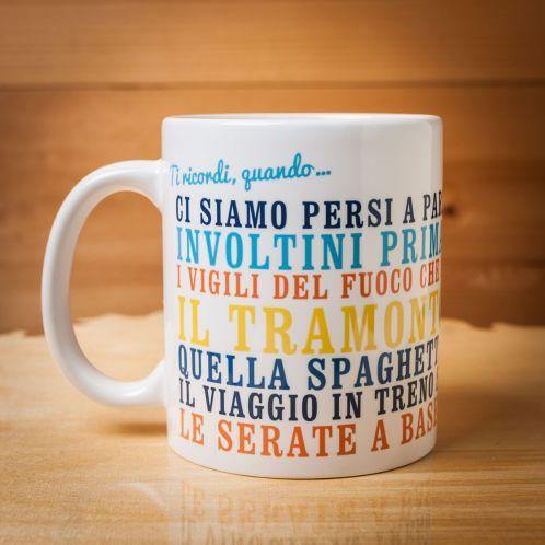 """Cofanetti Regalo - Tazza Personalizzata """"Ti ricordi, quando…"""""""