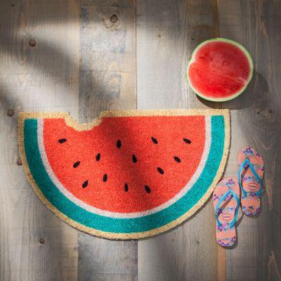 Südfrüchte-Fußmatten Wassermelone