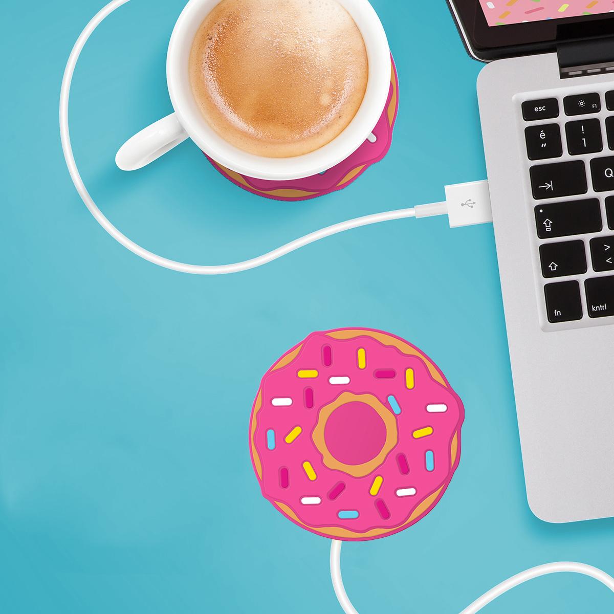 Scaldatazze USB Donut