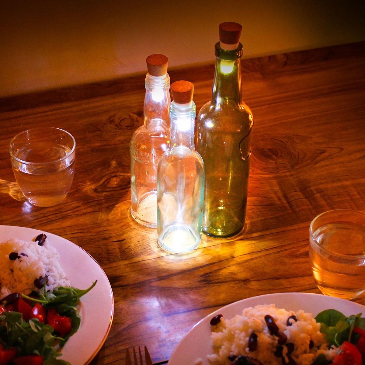 Tappo Luminoso Per Bottiglie