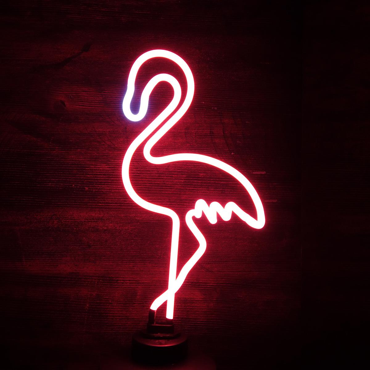 Lampada Neon Fenicottero