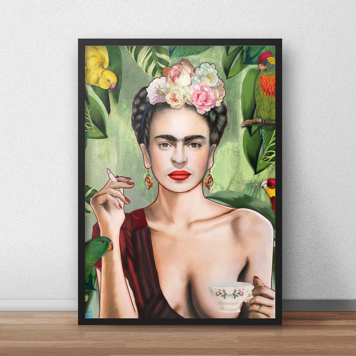 Poster Frida di Nettsch