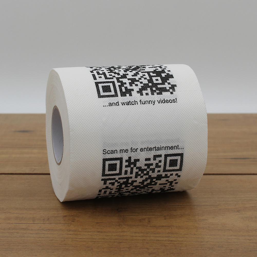 Carta Igienica con QR Code