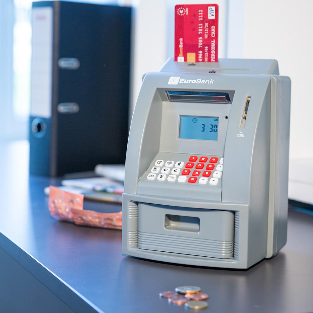 Salvadanaio Mini Bancomat