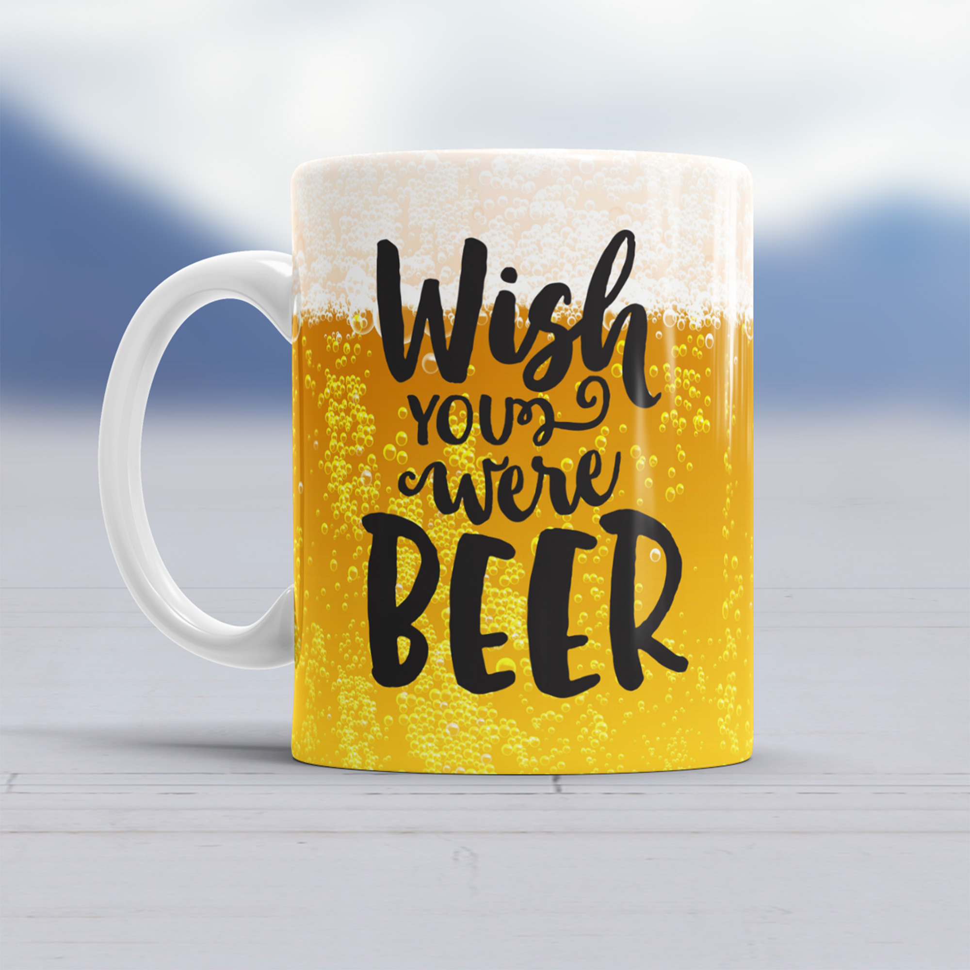 Tazza Wish You Were Beer