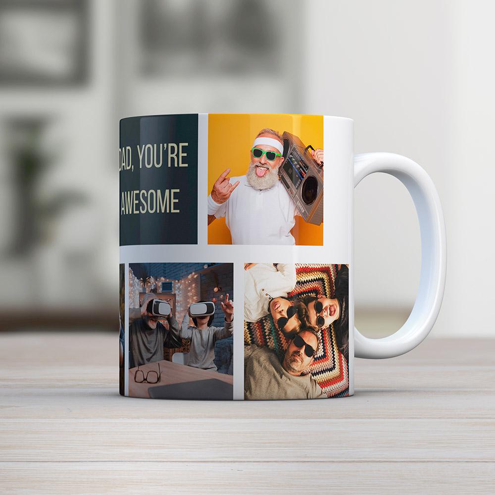 regali per il papà foto-tazza personalizzabile